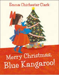 Picture of Merry Christmas blue Kangaroo!