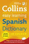 Picture of Collins Easy Learning Spanish Dictionary in Colour