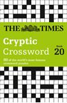Picture of Times Cryptic Crossword Book 20: 80 of the World's Most Famous Crossword Puzzles