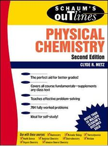 Picture of Schaum's Outline of Physical Chemistry