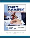 Picture of Project Management The Managerial Process  5ed