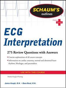 Picture of Schaum's Outline of ECG Interpretation