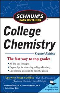 Picture of Schaum's Easy Outlines of College Chemistry 2ed