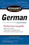 Picture of Schaum's Easy Outline of German 2ed