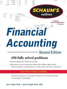 Picture of Schaum's Outline of Financial Accounting