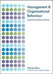 Picture of Management and Organisational Behaviour 2ed