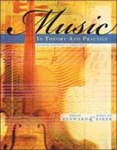 Picture of Music in theory & practice Vol 1 8ed +CD