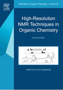 Picture of High-Resolution NMR Techniques in Organic Chemistry