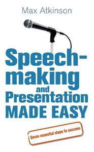 Picture of Speech-making and Presentation Made Easy