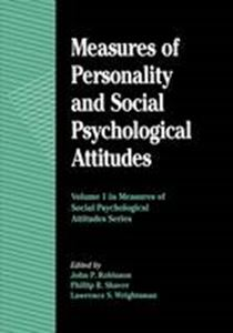 Picture of Measures of Personality and Social Psychological Attitudes