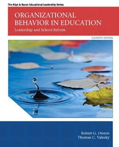 Picture of Organizational Behavior in Education: Leadership and School Reform 11ed