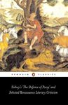 """Picture of Sidney's """"The Defence of Poesy"""" and Selected Renaissance Literary Criticism"""