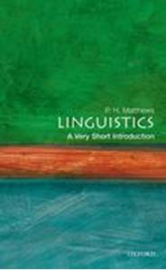 Picture of Linguistics: A Very Short Introduction