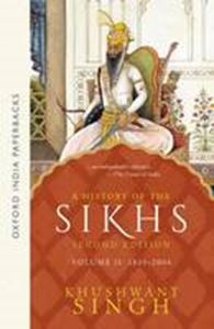 Picture of History of the Sikhs Volume 2 1839-2004