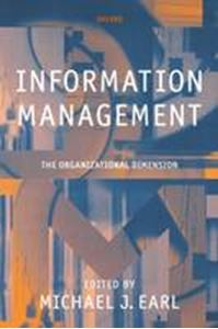Picture of Information Management : The Organizational Dimention