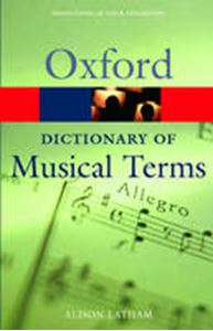 Picture of Oxford Dictionary of Musical Terms