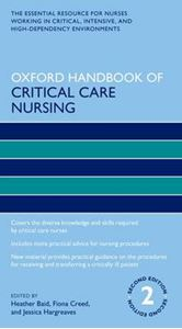 Picture of Oxford Handbook of Critical Care Nursing 2ed