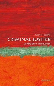 Picture of Criminal Justice: A Very Short Introduction