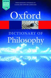 Picture of Oxford Dictionary of Philosophy 3ed