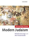 Picture of Modern Judaism An Oxford Guide