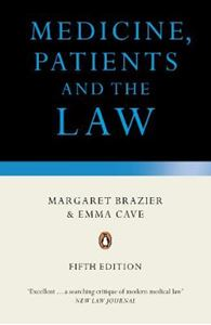 Picture of Medicine, Patients And The Law 5ed