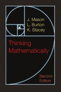 Picture of Thinking Mathematically