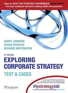 Picture of Exploring Corporate Strategy