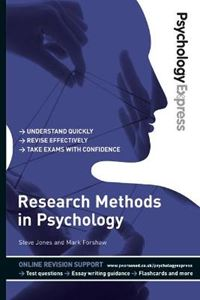 Picture of Psychology Express: Research Methods in Psychology (Undergraduate Revision Guide)
