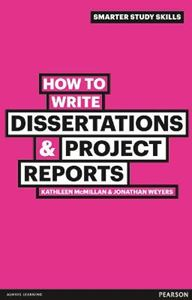 Picture of How To Write Dissertations & Project Reports