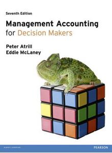 Picture of Management Accounting for Decision Makers with MyAccounting Lab Access Card 7ed