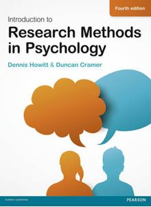 Picture of Introduction to Research Methods in Psychology 4ed