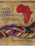 Picture of Africa Bible Commentary: A One-volume Commentary Written by 70 African Scholars