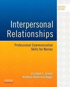 Picture of Interpersonal Relationships: Professional Communication Skills for Nurses 7ed