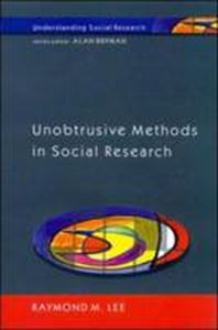 Picture of Unobtrusive Methods in Social Research
