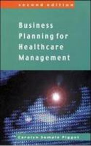 Picture of Business Planning for Healthcare Management