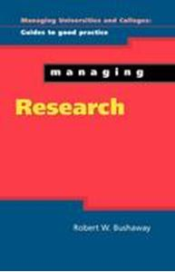 Picture of Managing Research