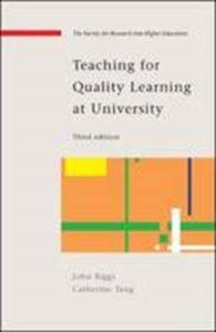 Picture of Teaching for Quality Learning at University