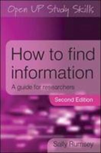 Picture of How to Find Information 2ed