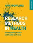 Picture of Research Methods in Health: Investigating Health and Health Services 4ed