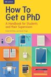 Picture of How to Get a PhD: a Handbook for Students and Their Supervisors 6ed