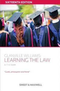 Picture of Glanville Williams: Learning the Law 16ed