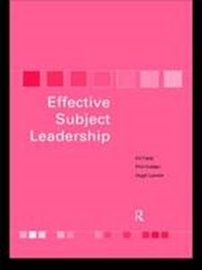 Picture of Effective subject leadership