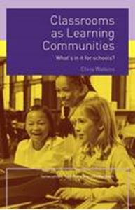 Picture of Classrooms as Learning Communities