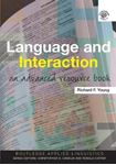 Picture of Language And Interaction: An Advanced Sourcebook