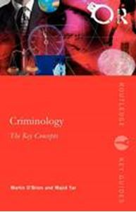 Picture of Criminology:key concepts