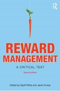 Picture of Reward Management : A Critical Text