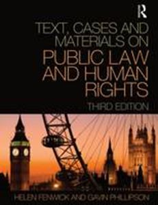 Picture of Text, Cases and Materials on Pulic Law and Human Rights 3ed