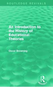 Picture of Introduction to the History of Educational Theories