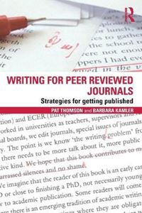 Picture of Writing for Peer Reviewed Journals