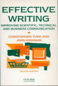 Picture of Effective Writing: Improving Scientific, Technical and Business Communication